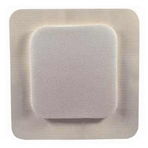 "MediPurpose mediplus-comfort foam border Ag island dressing 4"" x 4"", pad size 2.4"" x 2.4"""