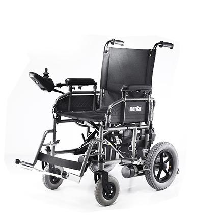 Merits Travel-Ease folding power wheelchair