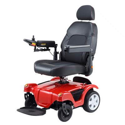 Merits health dualer power wheelchair