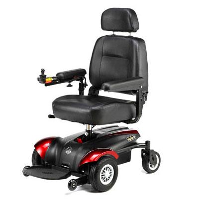 Merits vision CF power wheelchair