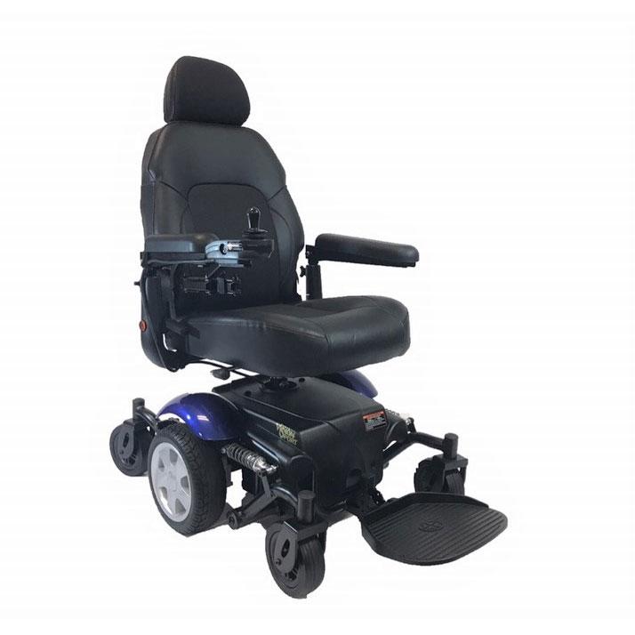 Merits health vision sport wheelchair - Blue