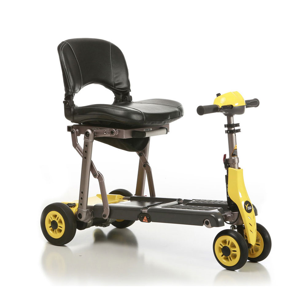 Merits Yoga lightweight folding scooter