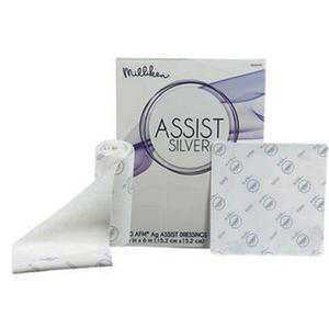 "Milliken Assist Silver Absorbent Dressing, 24"" x 36"""