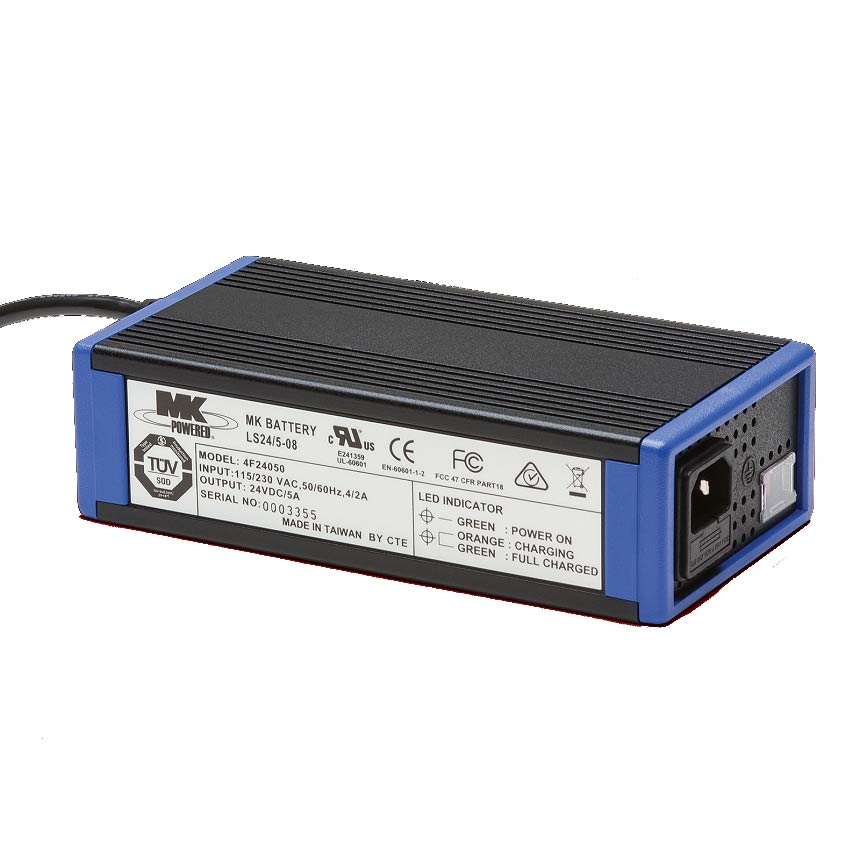 LS24 battery charger by MK battery - 5 Amp