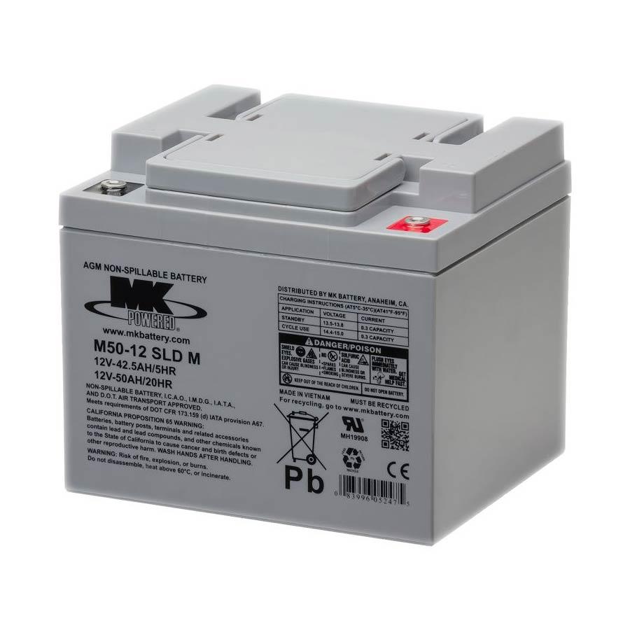 MK M50 sealed AGM battery
