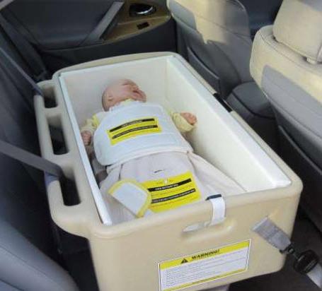 Hope car bed for infant