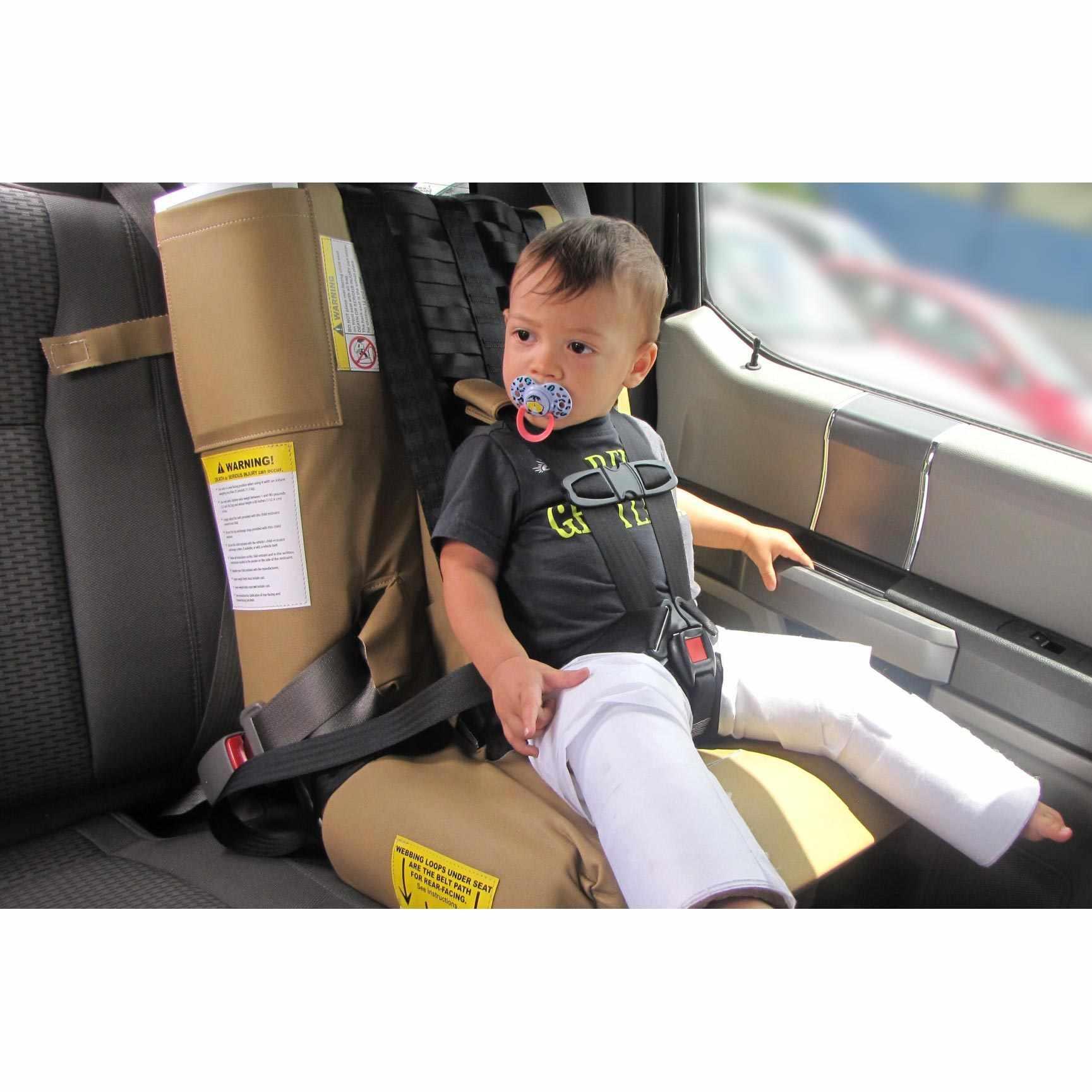 Wallenberg Hip Cast Car Seat