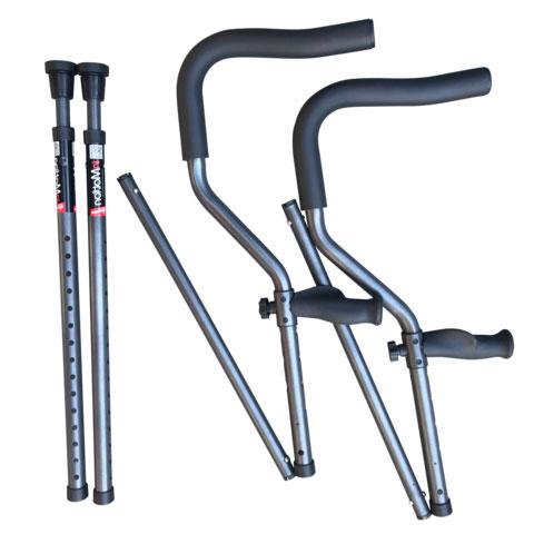 Millennial Medical In-Motion Folding Crutch