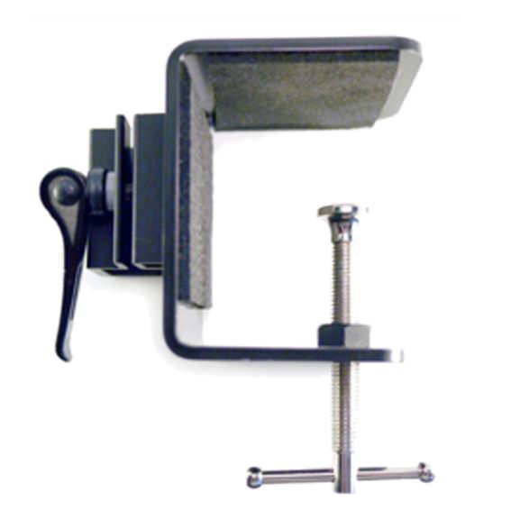Dual arm table attachment parts