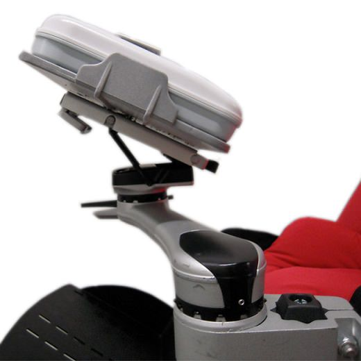 Mount'n Mover single arm wheelchair attachment