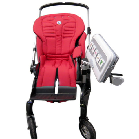 Mount'n Mover single arm attachment on stroller
