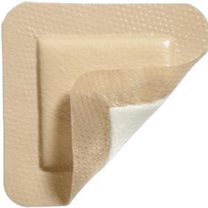 "Mepilex Border Lite Self-Adherent Soft Silicone Thin Bordered Foam Dressing, 6"" x 6"""