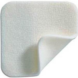 "Molnlycke Mepilex Soft Silicone Absorbent Foam Dressing, Sterile, 8"" x 8"""