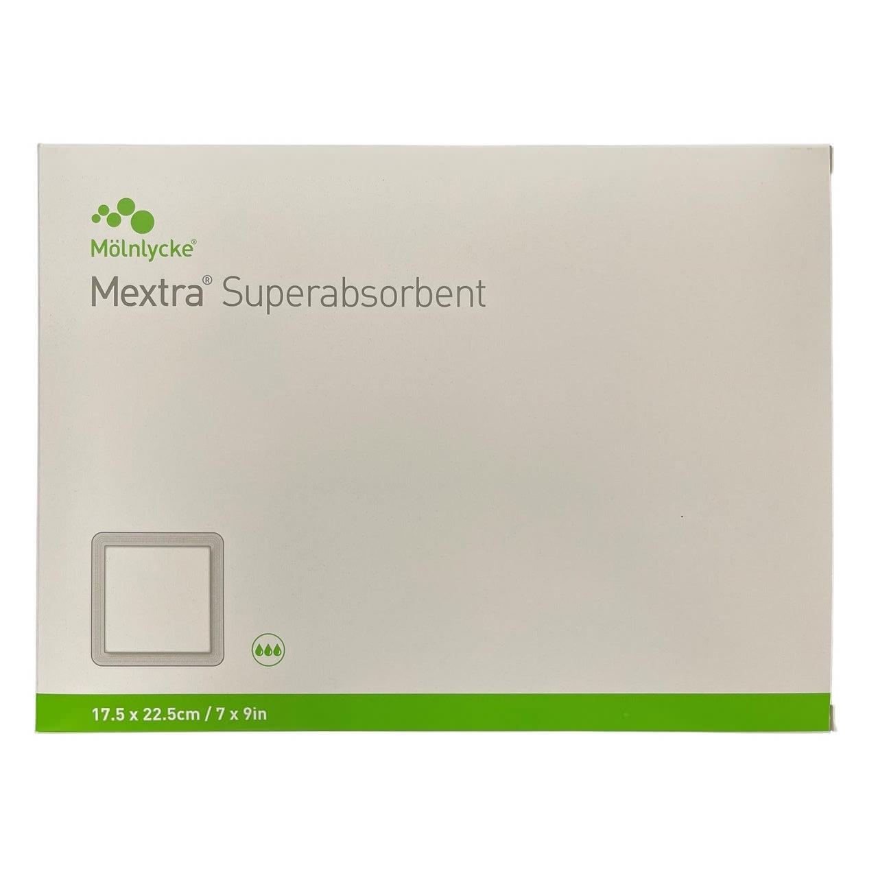 "Mextra Superabsorbent Dressing, 6"" x 8"""