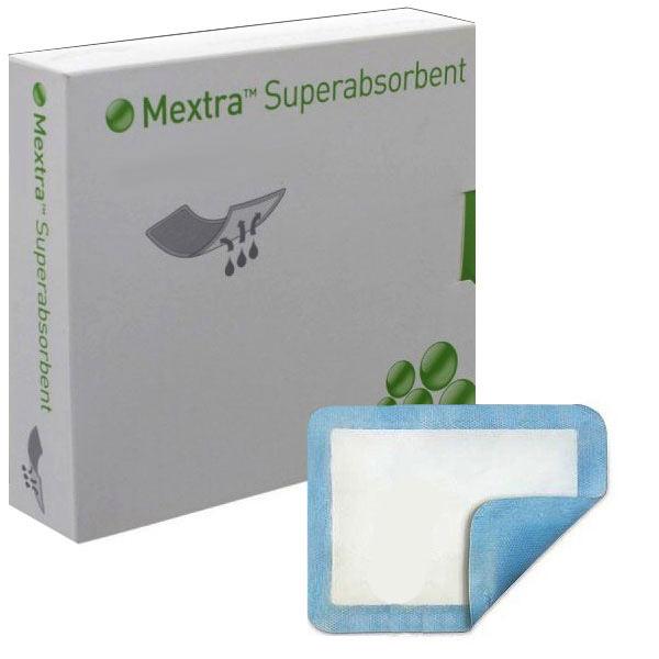 "Mextra Superabsorbent Dressing, 8"" x 10"""