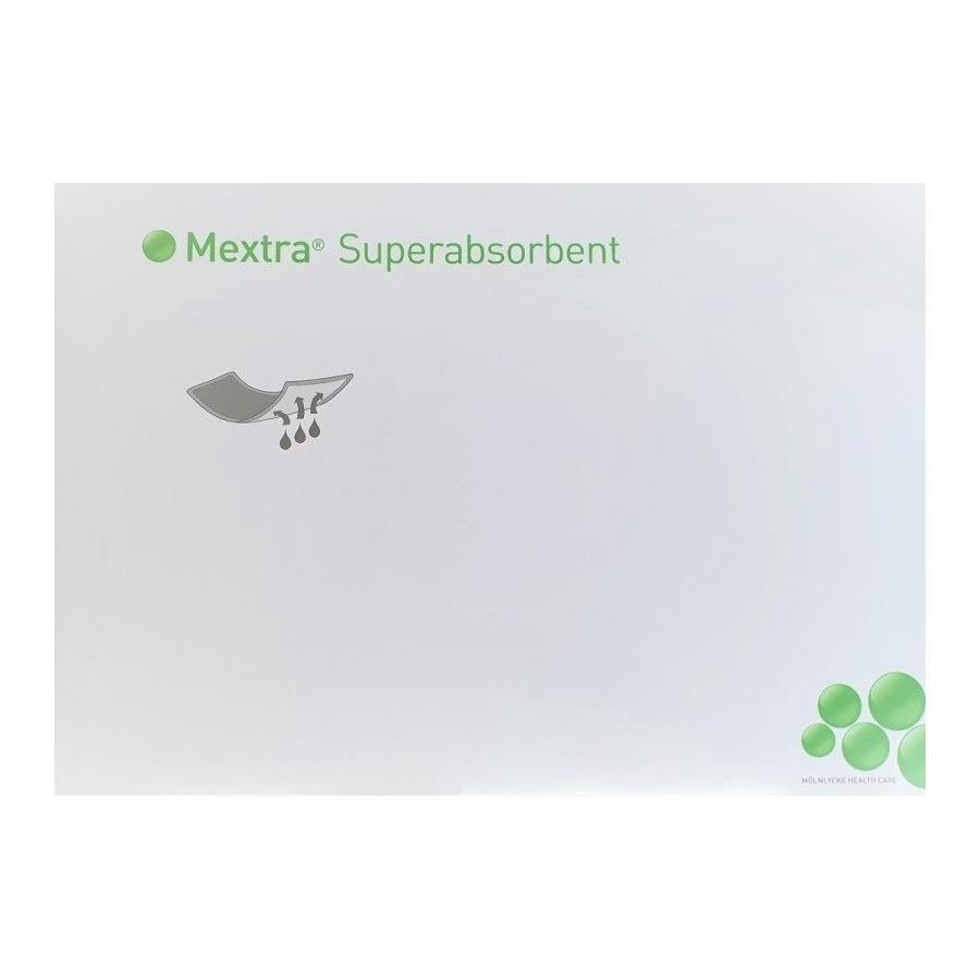 "Mextra Superabsorbent Dressing, 8"" x 12"""