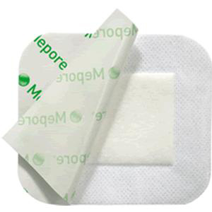 "Molnlycke mepore adhesive absorbent dressing 3.6"" x 8"""
