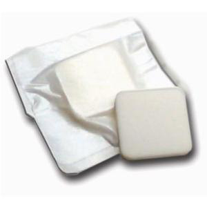 "MPM Medical Adhesive Bordered Foam Dressing, 4"" x 4"""