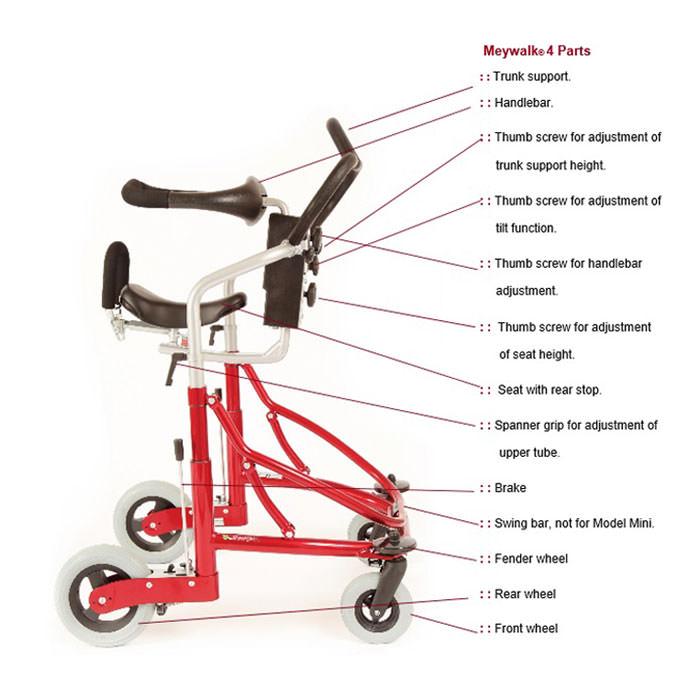 Meyland Smith Meywalk MK4 gait trainer
