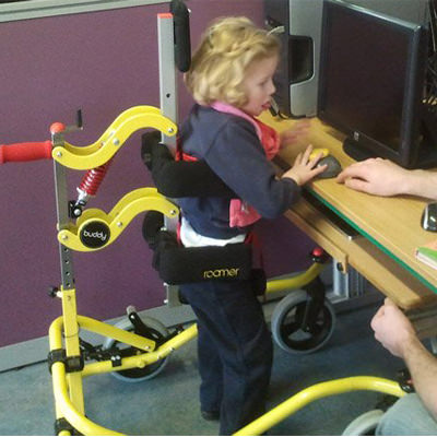 Buddy roamer posterior gait trainer - size 2