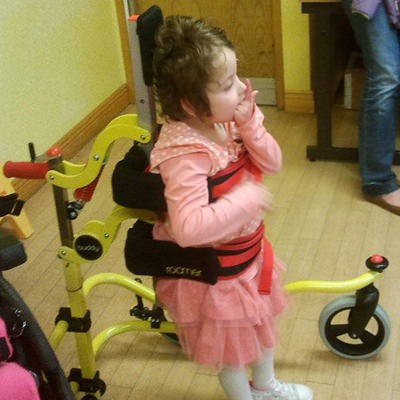 Buddy roamer posterior pediatric walker for special need - size 2