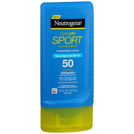 Neutrogena Sheer Dry-Touch Sunscreen Lotion, SPF 50, 3 oz