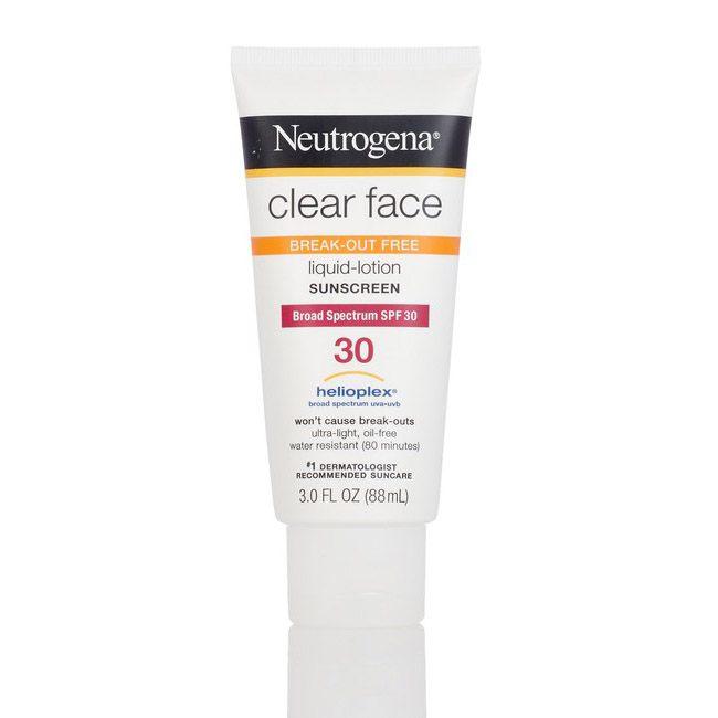 Neutrogena Clear Face Liquid Lotion, SPF 30, 3 oz