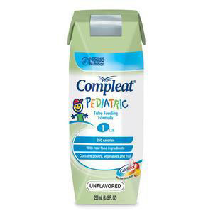 Nestle Compleat Modified Unflavored Pediatric Tube Feeding Food