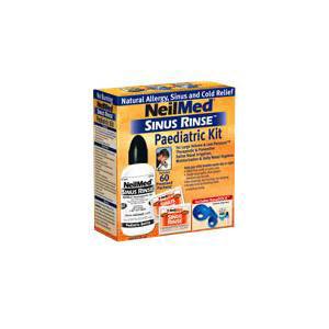 Sinus Rinse Pediatric Saline Nasal Wash Kit