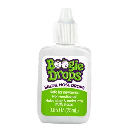 Nehemiah Boogie Drops Saline Nose Drop, 0.85 oz.