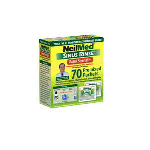 NeilMed Sinus Rinse Natural Saline Nasal Wash Packet