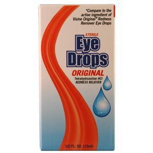 New World Redness Remover Eye Drops 1/2 oz