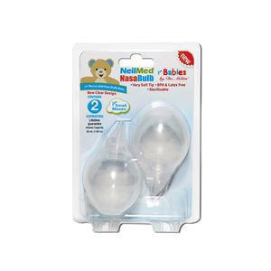 NasaBulb Nasal Aspirator, Silicone Bulb, Clear