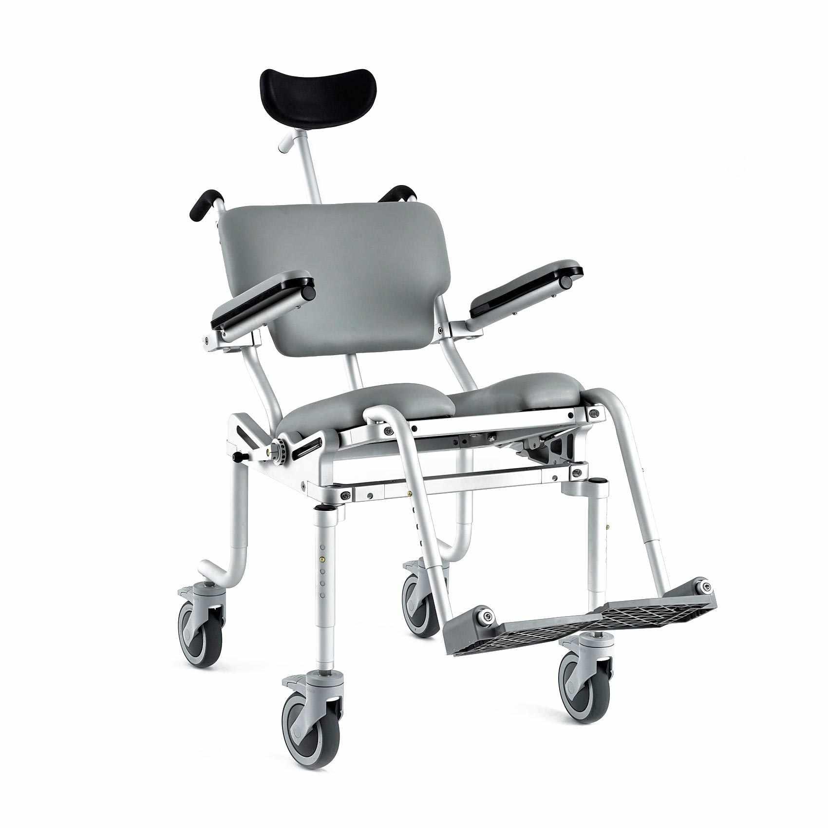 Nuprodx Multichair 4000tilt Roll In Shower Commode Chair
