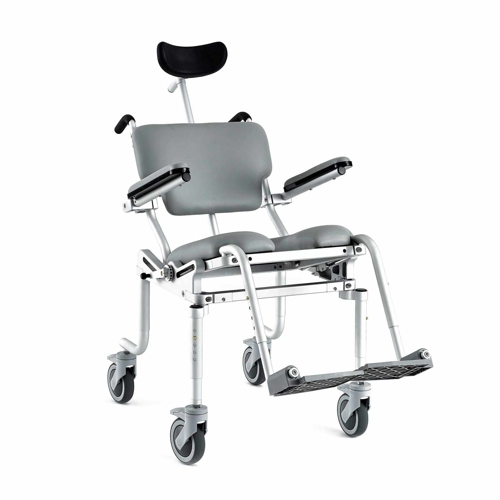 Nuprodx Multichair 4000Tilt Roll-In Shower Commode Chair   Medicaleshop
