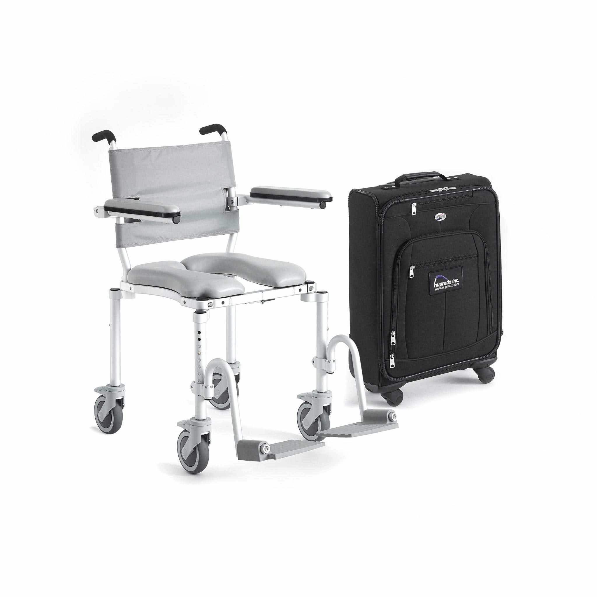 Nuprodx Multichair 4000Tx Roll-In Shower Commode Chair