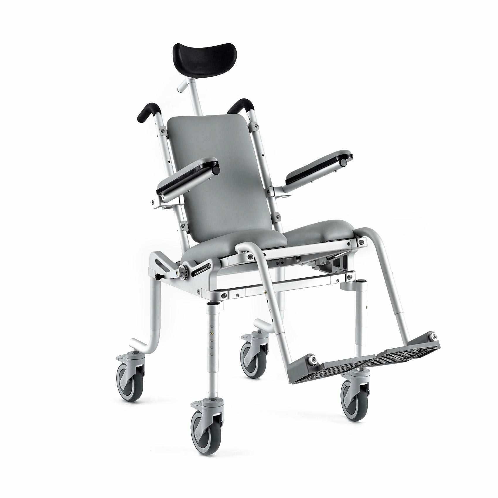 Nuprodx Multichair 4000Tilt Pediatric Roll-In-Shower Commode Chair