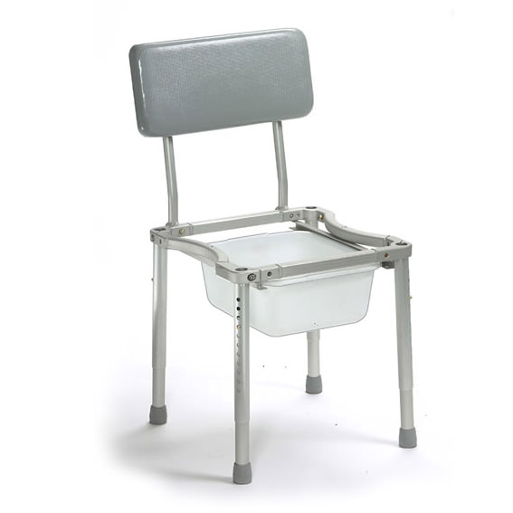 Nuprodx 4000Tilt Pediatric Roll-In-Shower Commode Chair | Medicaleshop