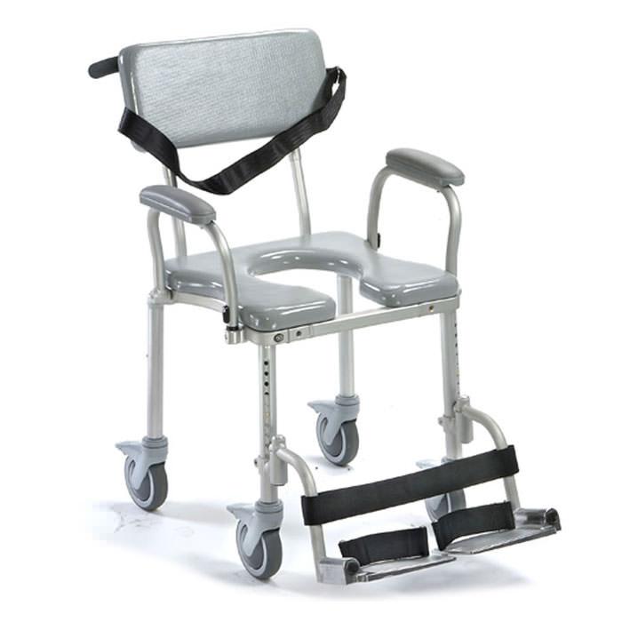 Nuprodx 4000TiltP Shower/Commode Chair | Medicaleshop