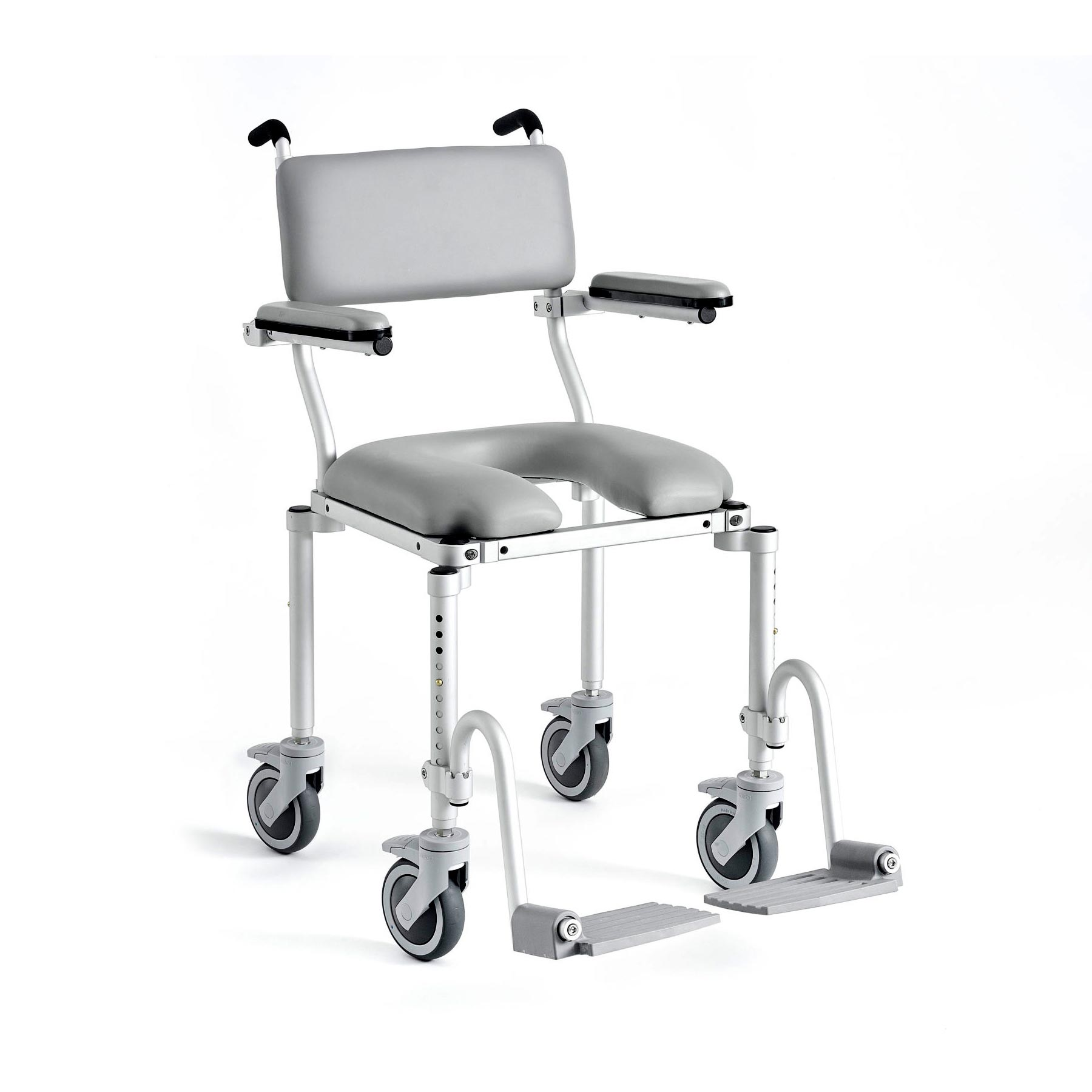 Nuprodx 4000 Roll-In-Shower Commode Chair | Medicaleshop