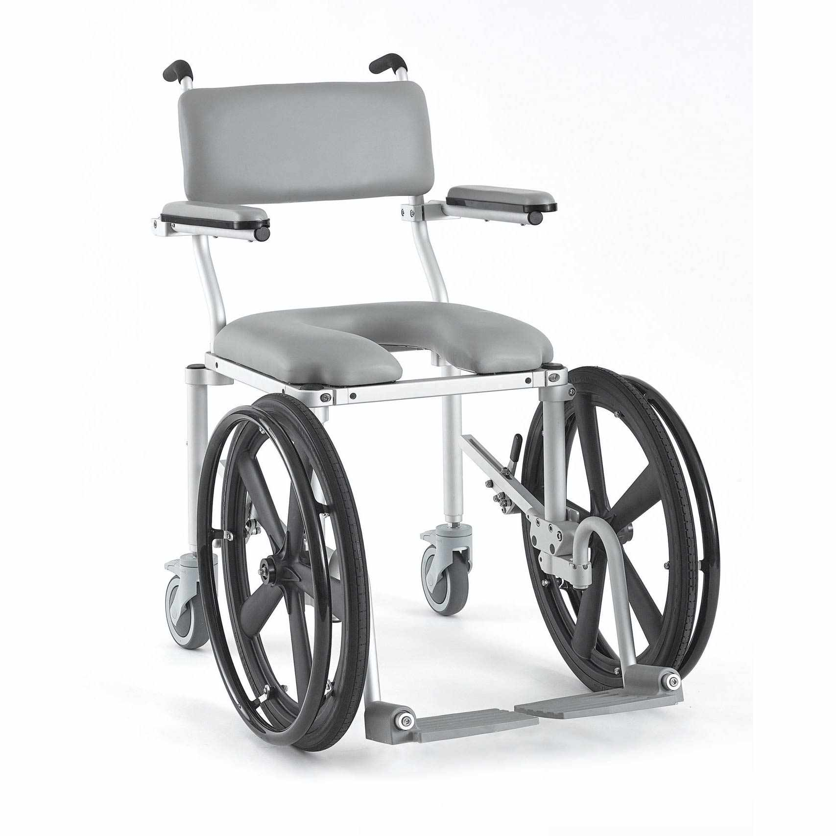 Nuprodx 4020Rx Roll-In-Shower Commode Chair | Medicaleshop