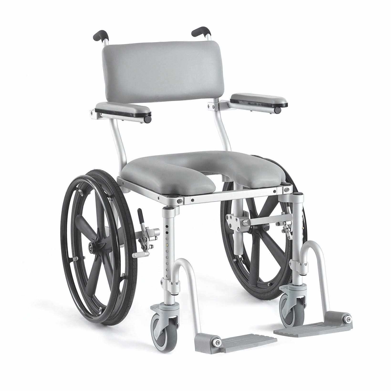 Nuprodx 4020 Roll-In-Shower Commode Chair   Medicaleshop