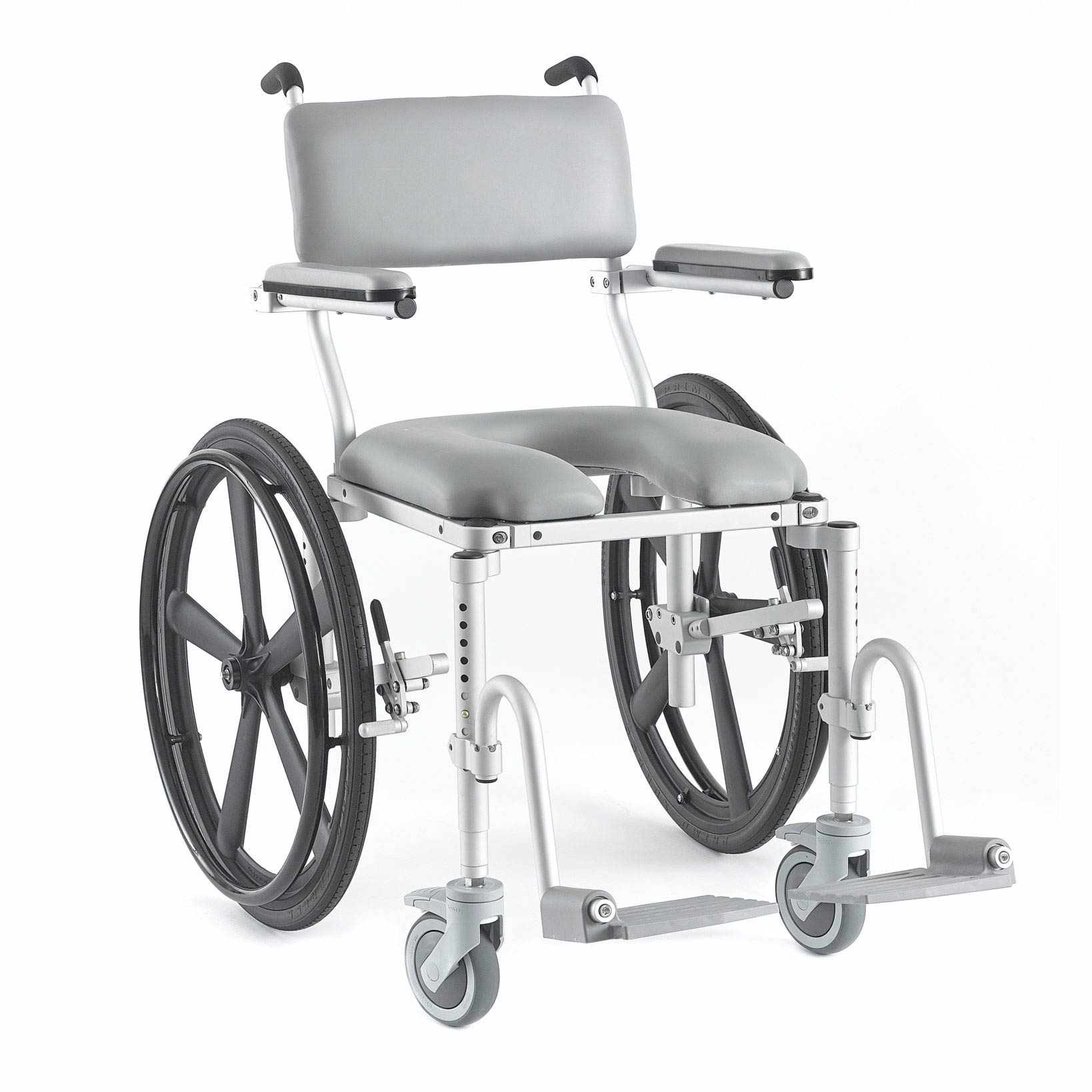 Nuprodx 4024 Roll-In Shower Commode Chair | Medicaleshop