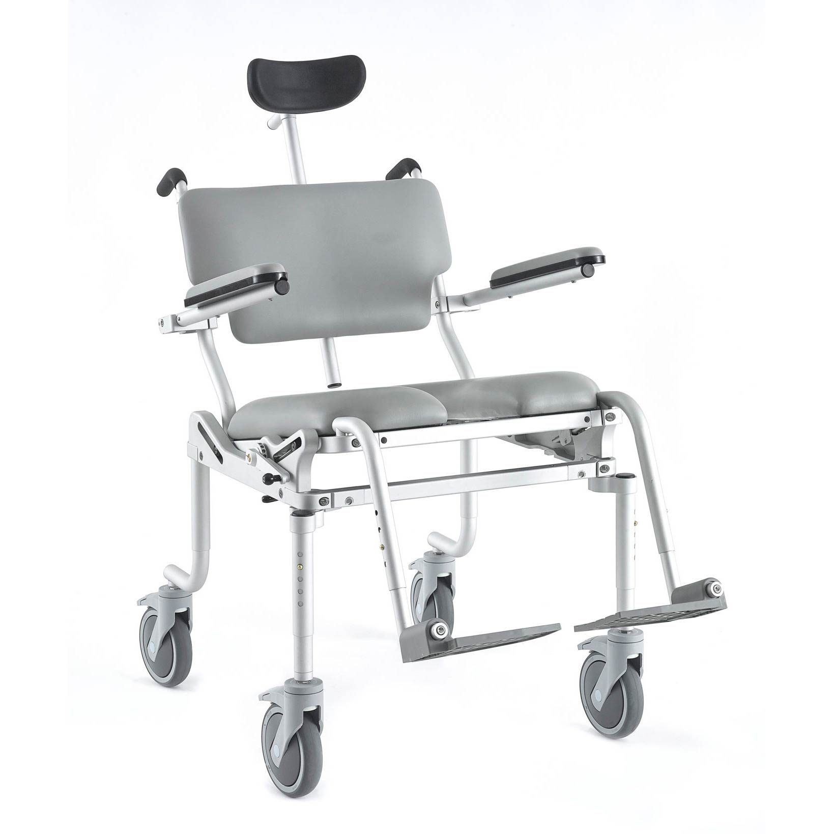 Nuprodx 4200 Tilt Roll-In-Shower Commode Chair   Medicaleshop