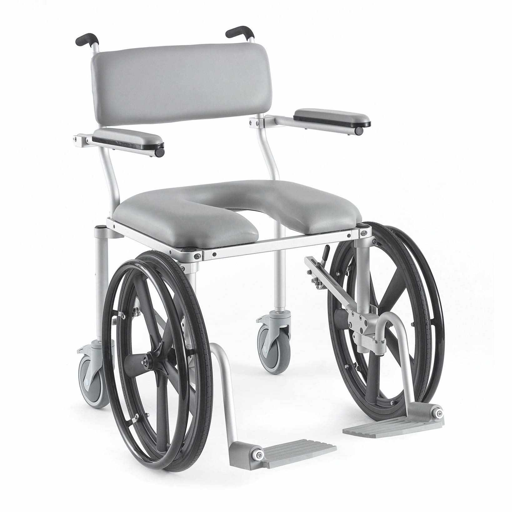 Nuprodx 4220Rx Roll-In Shower Commode Chair   Medicaleshop