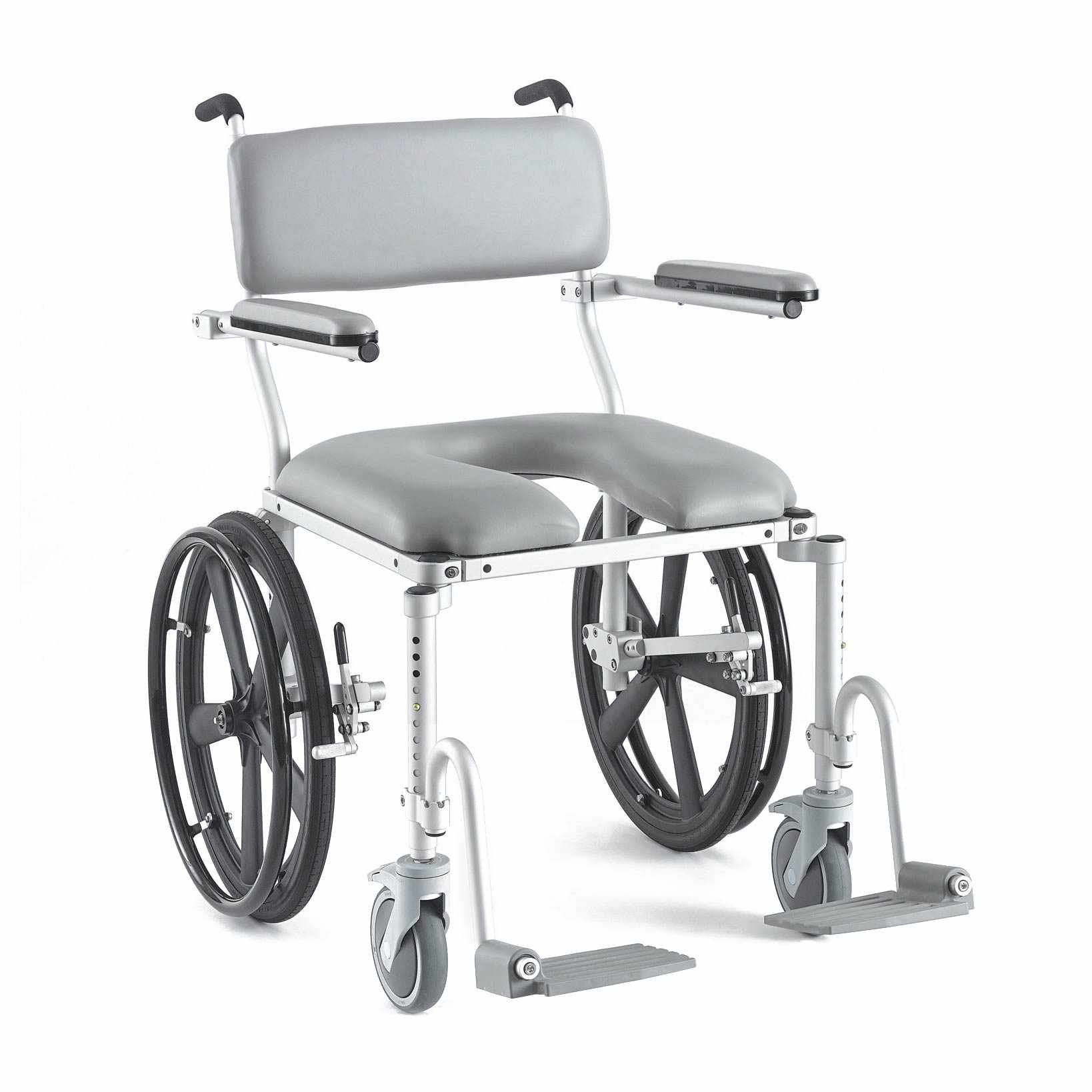 Nuprodx 4220 Roll-In-Shower Commode Chair | Medicaleshop