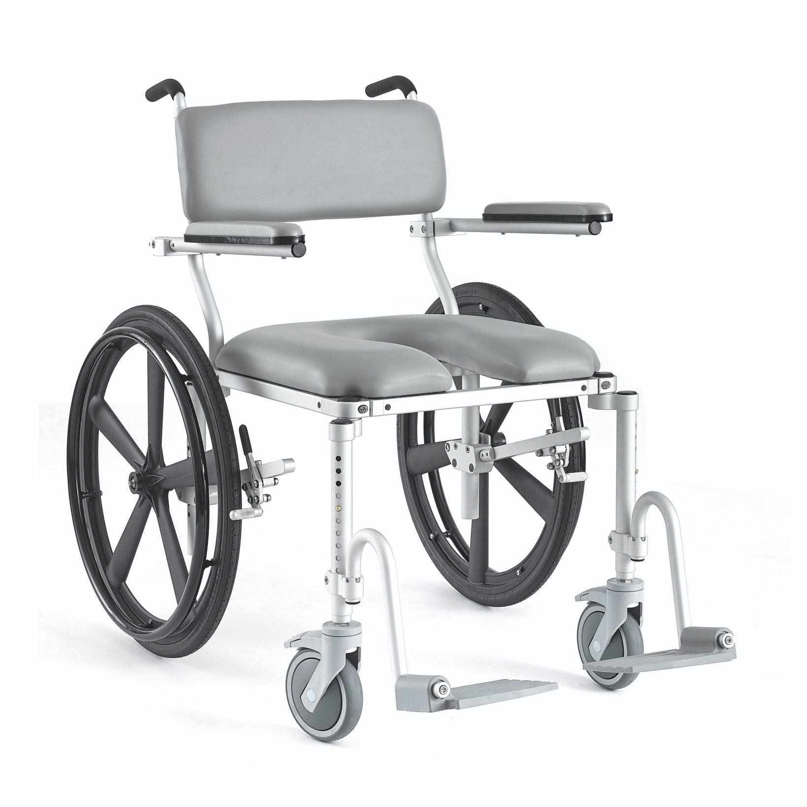 Nuprodx 4224 Roll-In Shower Commode Chair | Medicaleshop