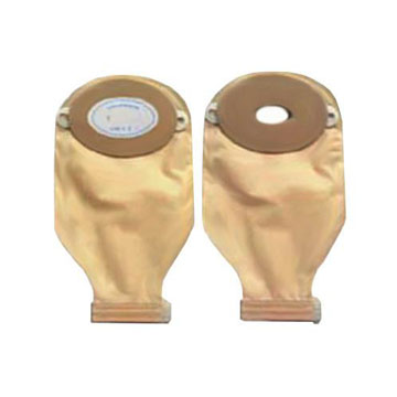 "Nu-Flex Opaque Drain Pouch Roll-Up With Barrier, 7/8"" Stoma"