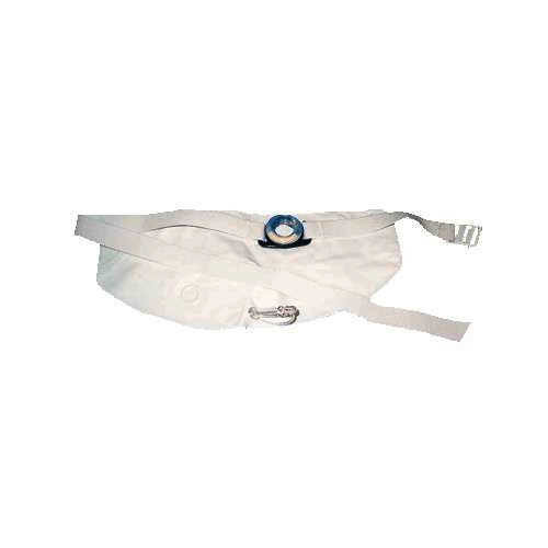 Nu-Hope One-piece Non-adhesive Urostomy System, Small O-ring, Right Stoma, Large