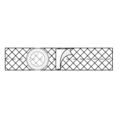 """Nu-Form Support Belt, 3"""" Opening, 3"""" Wide, Large, Cool Comfort Elastic"""